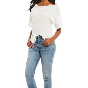 Women's she' so cool off the shoulder top